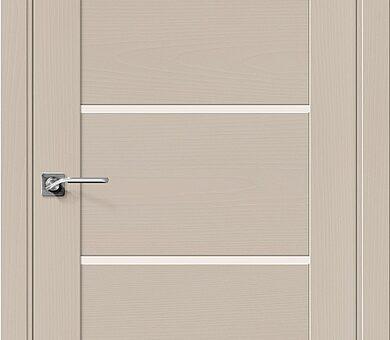 Дверь межкомнатная шпонированная Браво Вуд Модерн-22 Latte