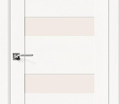 Дверь межкомнатная шпонированная Браво Вуд Модерн-23 Whitey
