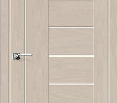 Дверь межкомнатная шпонированная Браво Вуд Модерн-29 Latte