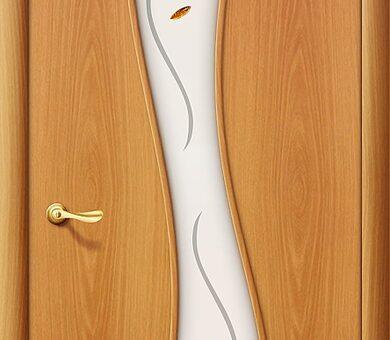 Дверь межкомнатная Браво-11Ф Л-12 (МиланОрех)