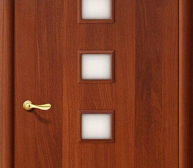 Дверь межкомнатная Браво-1С Л-11 (ИталОрех)