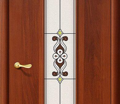 Дверь межкомнатная Браво-23Х Л-11 (ИталОрех)