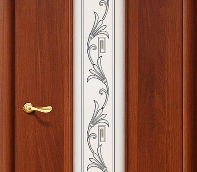 Дверь межкомнатная Браво-24Х Л-11 (ИталОрех)