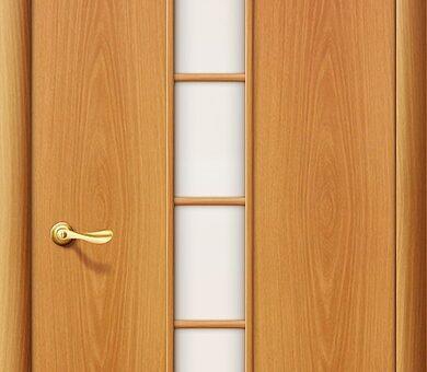 Дверь межкомнатная Браво-2С Л-12 (МиланОрех)