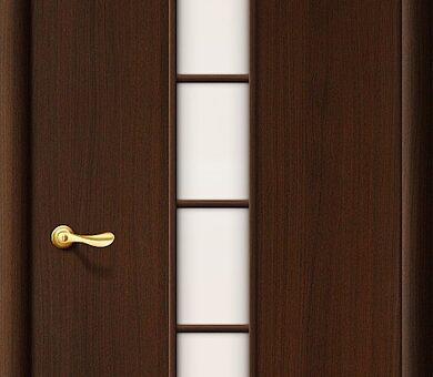 Дверь межкомнатная Браво-2С Л-13 (Венге)