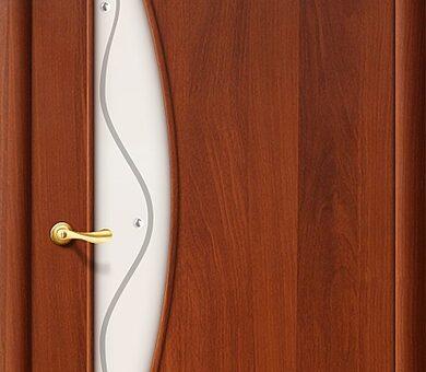Дверь межкомнатная Браво-5Ф Л-11 (ИталОрех)