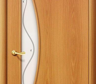 Дверь межкомнатная Браво-5Ф Л-12 (МиланОрех)