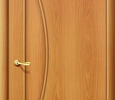 Дверь межкомнатная Браво-5Г Л-12 (МиланОрех)