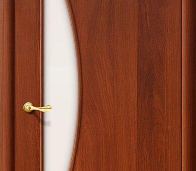 Дверь межкомнатная Браво-5С Л-11 (ИталОрех)