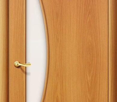 Дверь межкомнатная Браво-5С Л-12 (МиланОрех)