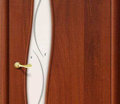 Дверь межкомнатная Браво-6Ф Л-11 (ИталОрех)