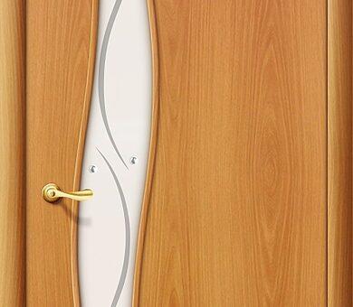 Дверь межкомнатная Браво-6Ф Л-12 (МиланОрех)