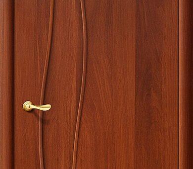 Дверь межкомнатная Браво-6Г Л-11 (ИталОрех)