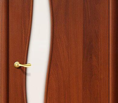 Дверь межкомнатная Браво-6С Л-11 (ИталОрех)