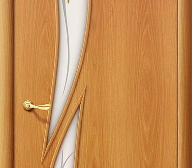 Дверь межкомнатная Браво-8Ф Л-12 (МиланОрех)