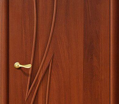 Дверь межкомнатная Браво-8Г Л-11 (ИталОрех)
