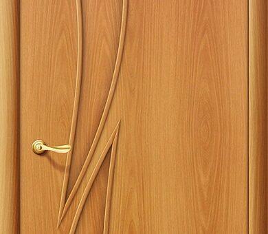 Дверь межкомнатная Браво-8Г Л-12 (МиланОрех)