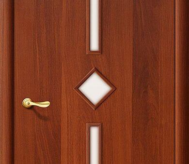 Дверь межкомнатная Браво-9С Л-11 (ИталОрех)