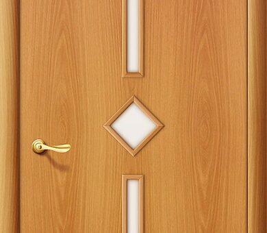 Дверь межкомнатная Браво-9С Л-12 (МиланОрех)
