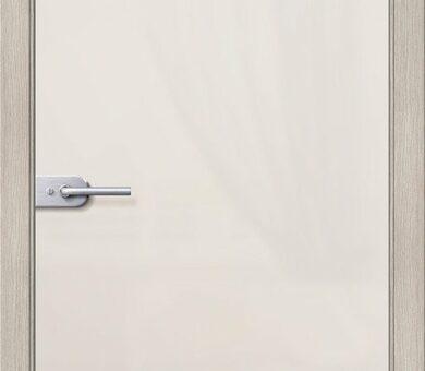 Дверь межкомнатная Браво-Лайт Белое Сатинато