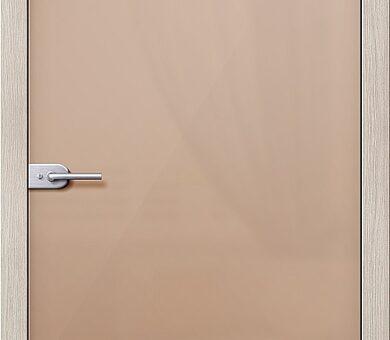 Дверь межкомнатная Браво-Лайт Бронза Сатинато