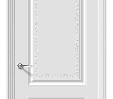 Дверь межкомнатная Браво Скинни-12 Аrt Whitey