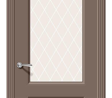 Дверь межкомнатная Браво Скинни-13 Mocca