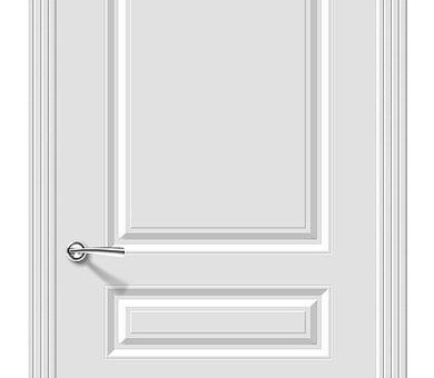 Дверь межкомнатная Браво Скинни-14 Whitey