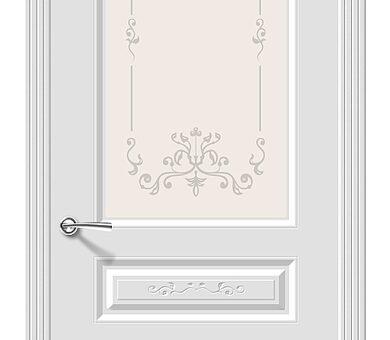 Дверь межкомнатная Браво Скинни-15.1 Аrt Whitey