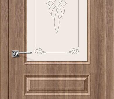 Дверь межкомнатная Браво Скинни-15 П-35 (Шимо Темный)