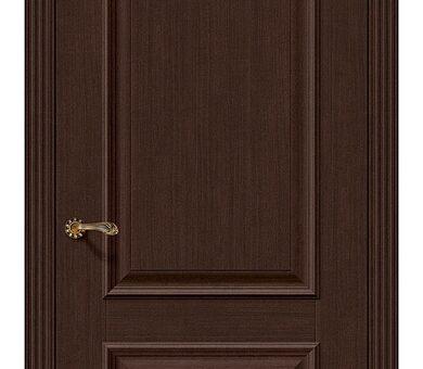 Дверь межкомнатная евро шпон Браво Классико-12 Thermo Oak