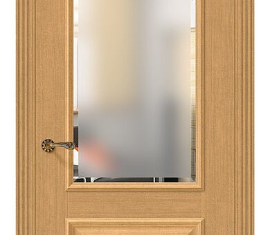 Дверь межкомнатная евро шпон Браво Классико-13 Real Oak
