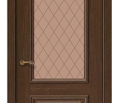 Дверь межкомнатная шпонированная Браво Вуд Классик-13 Golden Oak