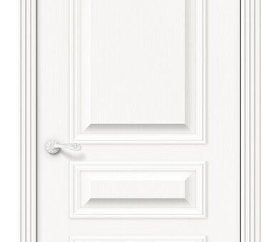 Дверь межкомнатная шпонированная Браво Вуд Классик-14 Whitey