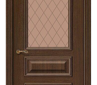 Дверь межкомнатная шпонированная Браво Вуд Классик-15.1 Golden Oak