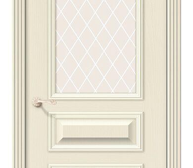 Дверь межкомнатная шпонированная Браво Вуд Классик-15.1 Ivory