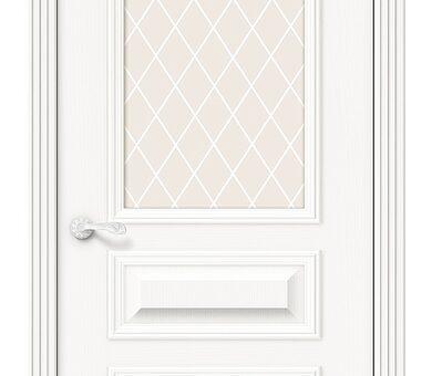 Дверь межкомнатная шпонированная Браво Вуд Классик-15.1 Whitey