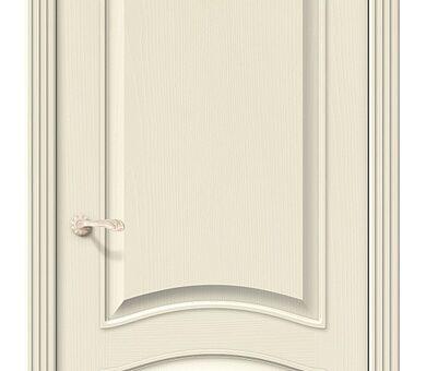 Дверь межкомнатная шпонированная Браво Вуд Классик-32 Ivory