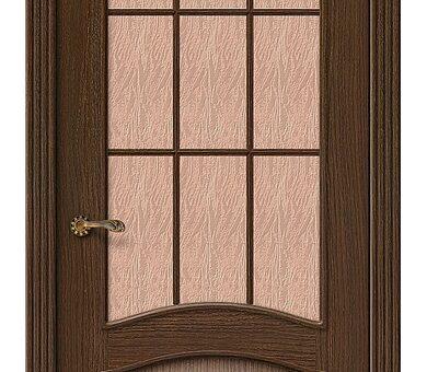 Дверь межкомнатная шпонированная Браво Вуд Классик-33 Golden Oak