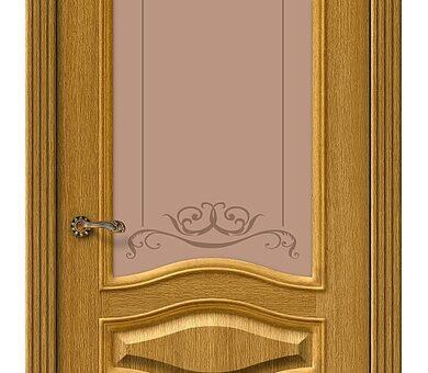Дверь межкомнатная шпонированная Браво Вуд Классик-51 Natur Oak
