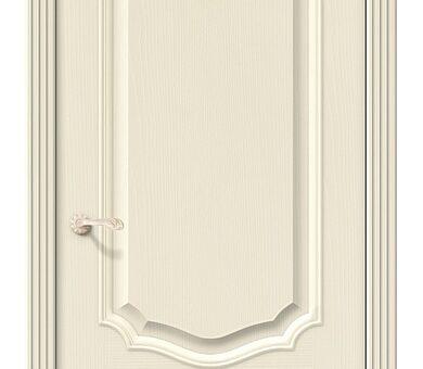 Дверь межкомнатная шпонированная Браво Вуд Классик-52 Ivory