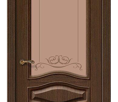 Дверь межкомнатная шпонированная Браво Вуд Классик-53 Golden Oak