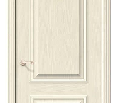 Дверь межкомнатная шпонированная Браво Вуд Классик-12 Ivory