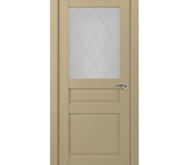 Дверь Zadoor Classic-S Ампир-2 S с остеклением