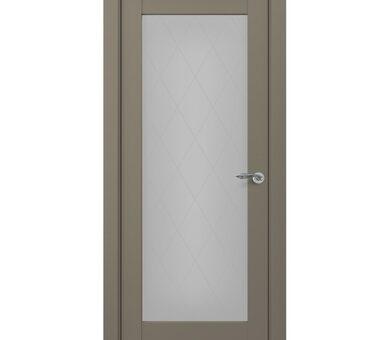 Дверь Zadoor Classic-S Неаполь-2 S с остеклением