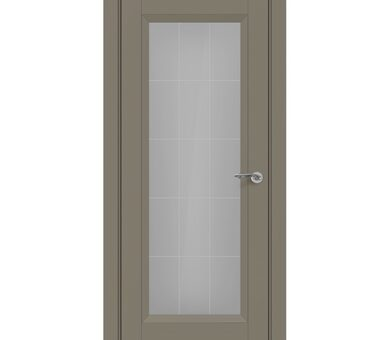 Дверь Zadoor Nuovo Classic Неаполь с остеклением