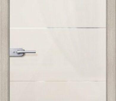 Дверь межкомнатная Браво- Диана Белое Сатинато