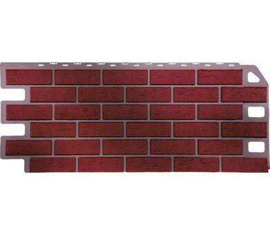 Фасадная панель FineBer Кирпич Красный обожжёный