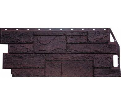 Фасадная панель FineBer Природный камень Коричневый