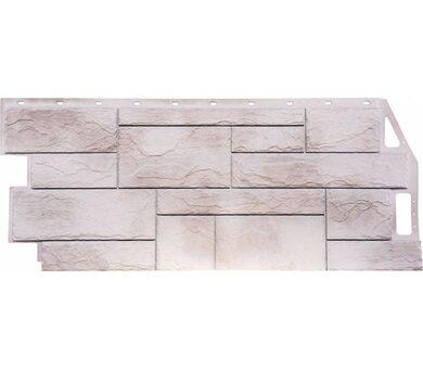 Фасадная панель FineBer Природный камень Жемчужный